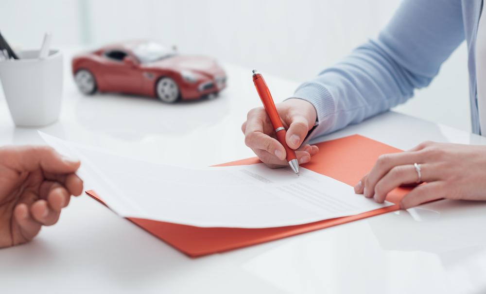 任意保険の名義変更の方法